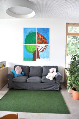 Innenansicht Kindergarten in Altusried